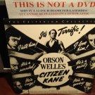 LD Criterion CITIZEN KANE (1941) Orson Welles The RKO Collection CLV Laserdisc [CCI285L / Spine142A]
