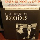 LD Criterion NOTORIOUS (1946) Alfred Hitchcock Lot#4 CLV The Voyager Laserdisc [CC1204L / 100A]