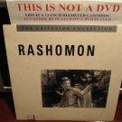 LD Criterion RASHOMON (1950) Akira Kurosawa Lot#2 CLV Japanese Language Laserdisc [CC1149L / 49]