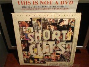 LD Criterion SHORT CUTS 1993 Robert Altman Lot#2 3-Disc Gatefold Laserdisc [CC1383L Spine 231]