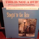 LD Criterion SINGIN' IN THE RAIN (1951) Gene Kelly Lot#2 CAV Laserdisc [CC1152L Spine No. 52]