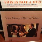 LD Criterion THAT OBSCURE OBJECT OF DESIRE (1977) In French w/ST CLV Laserdisc [CC1223L Spine 113]