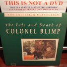 LD Criterion THE LIFE AND DEATH OF COLONEL BLIMP (1943) Lot#1 CLV Laserdisc [CC1137L / 37]