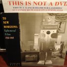 LD Voyager TO NEW HORIZONS: EPHEMERAL FILMS 1931-1945 Prelinger Golden Age Rare Laserdisc [VP1010L]