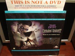 Laserdisc DEMON KNIGHT - TALES FROM THE CRYPT 1995 Billy Zane Horror Comedy LD Movie [42441]
