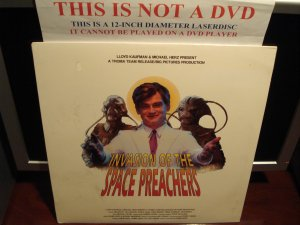 Laserdisc INVASION OF THE SPACE PREACHERS 1990 Jim Wolfe FS SEALED Sci-Fi LD Movie [ID2589RH]