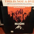 Laserdisc THE BELIEVERS 1987 Martin Sheen FS Horror Film Devil Video Terror LD Movie  [IDHBO 0034]