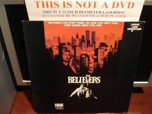 Laserdisc THE BELIEVERS 1987 Martin Sheen FS Horror Film Devil Video Terror LD Movie  [IDHBO 0034]