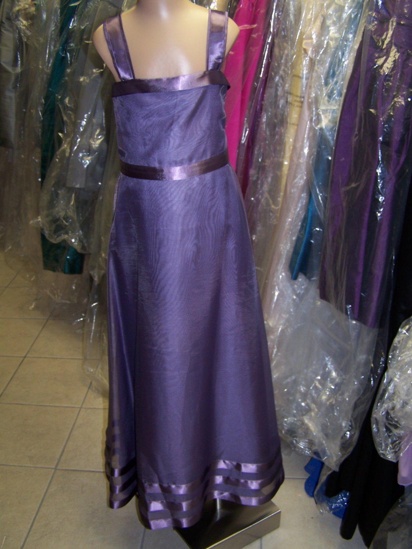 Dessy 4005.....Flower Girl / Special Occasion Dress.....Wood Violet....3