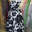 Dessy 4027.....Flower Girl / Special occasion Dress.....Melrose Print....Sz 3