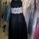 Dessy 4007.....Flower Girl / Special occasion Dress.....Black.....Sz 4