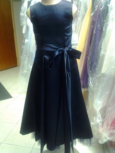 Dessy 4008.....Flower Girl / Special Occasion Dress....Midnight....Sz 3
