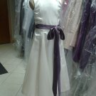 Dessy 4008.....Flower Girl / Special Occasion Dress....Ivory...Sz 7