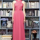 Lela Rose LR 212....Full length..sleeveless, Chiffon Dress.....Punch.....Sz 22