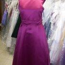 Dessy 4013.....Flower Girl Dress.....Merlot.....Size 14