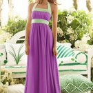 After Six 6566....Bridesmaid / Formal Sleeveless Purple Dress....Orchid....Sz 12