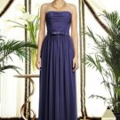 Dessy 2898......Full length, Strapless, Chiffon Dress.....Amethyst.....Size 8