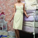 Lela Rose LR 149....Cocktail, Strapless, Chiffon Dress....Mint....Sz 26