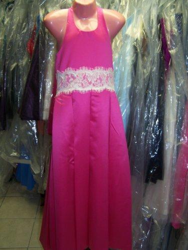 Dessy 4007.....Flower Girl / Special occasion Dress.....Fuchsia....Sz 4