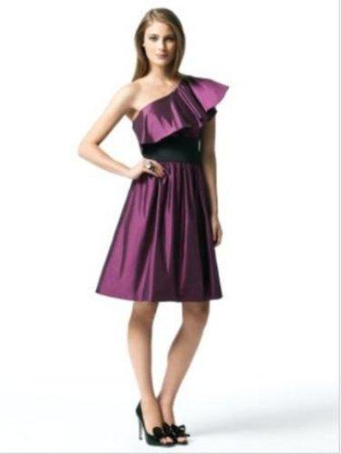 Dessy 2838....Bridesmaid / Cocktail Dress.....Sugar Plum....10