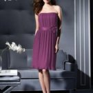 Dessy 2800.....Cocktail length, Strapless Dress......Sugar Plum...Size 10