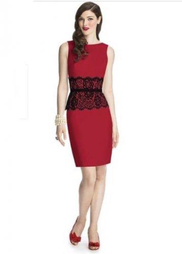 57 Grand..Style 5706...Cocktail length, Sleeveless Dress....Valentine.....Sz 14