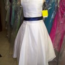 Dessy 4016.....Flower Girl / Special Occasion Dress......Ivory.....Sz 3