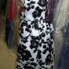 Dessy 4021.....Flower Girl / Special occasion Dress.....Melrose Print....Sz 2