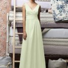 Lela Rose 142...Full length, Sleeveless, Chiffon Dress....Mint....Size 6