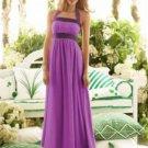 After Six 6566....Full length, Halter Dress.....Sugar plum...Size 4