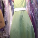 Dessy 4013.....Flower Girl Dress.....Aple Slice.......Size 12