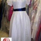 Dessy 4011.....Flower Girl / Special Occasion Dress.....Ivory....Sz 5
