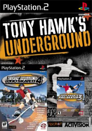 Tony Hawk Ps2 Value Pack