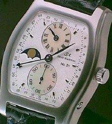 Regolator Tonneau - Collectible Rene Marchal watches