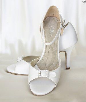 """Angela Nuran Eternity Wedding/dancing Shoes 3.5"""" Heel - size 7"""