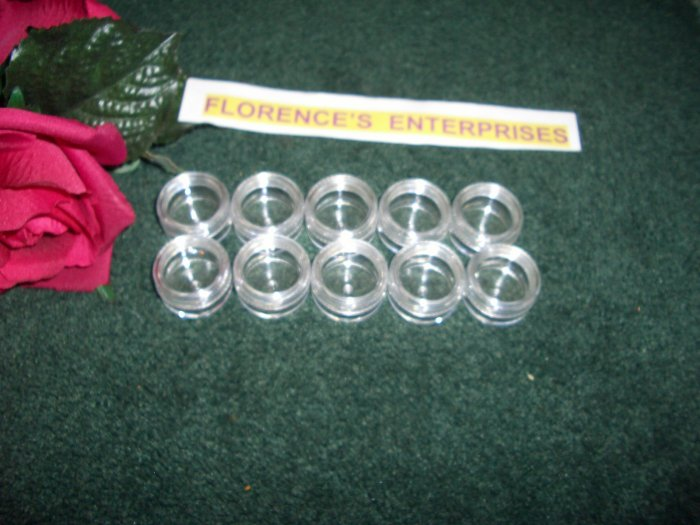 LOT OF 20 CLEAR COSMETIC JAR  -  5 GRAM  PLUS  *** FREE LABELS ***