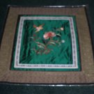 Square Tapestry with  Bird & Flowers   *** FREE SHIPPING ***