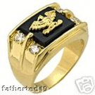 Men genuine ring $69.99