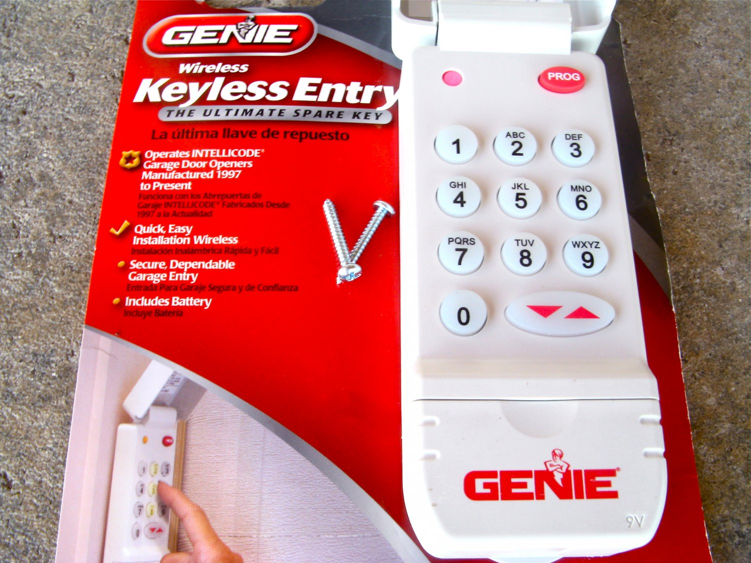 Genie Intellicode Garage Door Opener Acsd1g Keypad Gwkp