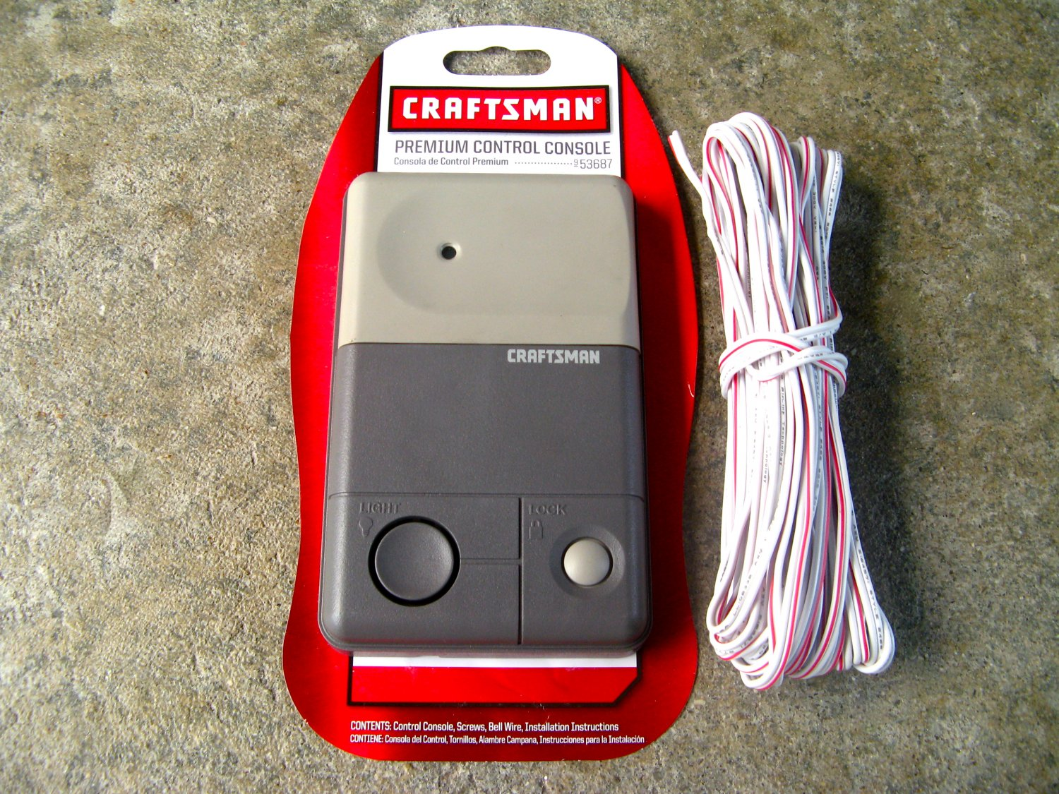 Craftsman Liftmaster Garage Door 53687 Opener Control