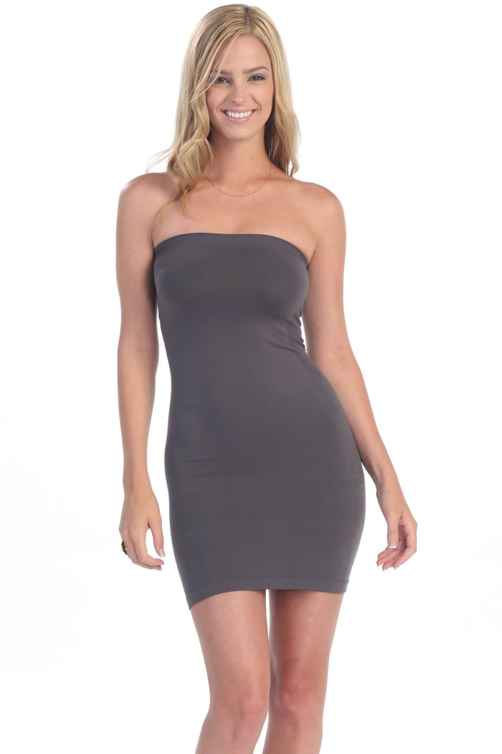 Charcoal Tube Dress Super Soft Form Fitting and Tight made ...