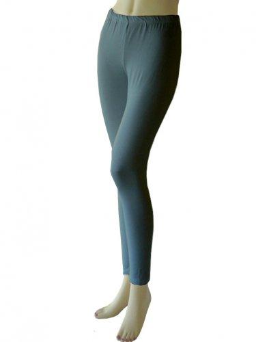 Women's Soft charcoal grey Leggings Tights Yoga Pants Full length New