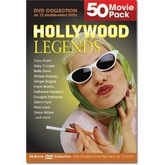 Hollywood Legends 50 Movie Pack - BRAND NEW DVD BOX SET
