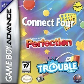 Connect Four Perfection Trouble - Gameboy Advance - NEW FACTORY SEALED