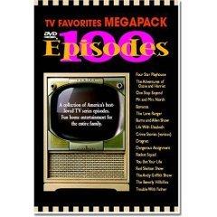 TV Favorites Megapack 100 Episodes NEW DVD BOX SET