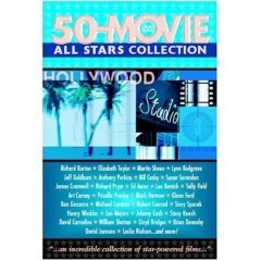 All Stars Collection 50 Movies NEW DVD BOX SET