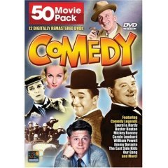 Comedy Classics 50 Movie Pack NEW DVD BOX SET