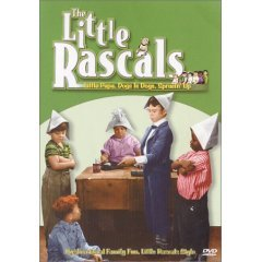 Little Rascals - Little Papa, Dogs is Dogs, Sprucin Up NEW DVD SEALED