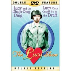 Lucy Show Ring-a-Ding-Ding & Caught Up In The Draft - NEW DVD FACTORY SEALED