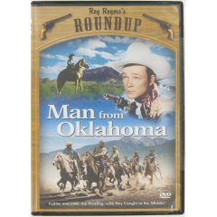 Man From Oklahoma:  Roy Rogers - NEW DVD FACTORY SEALED